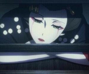 anime, boy, and geisha image
