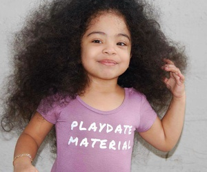 adorable, baby girl, and curls image