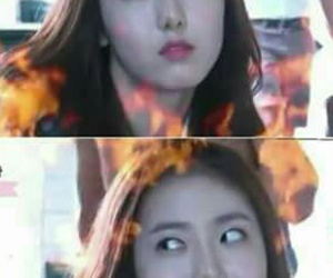 reactions, kpop funny, and sinb image