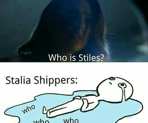 stalia, malia, and teen wolf image