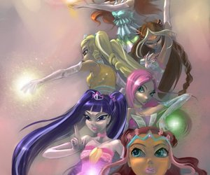 winx club and enchantix image