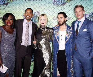 jared leto, the joker, and will smith image