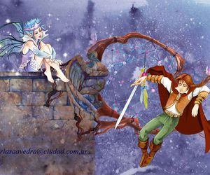 Dream, fairy, and knight image