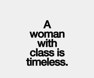 quote, class, and woman image