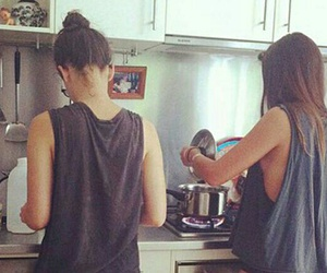 cooking and ​bestfriend image