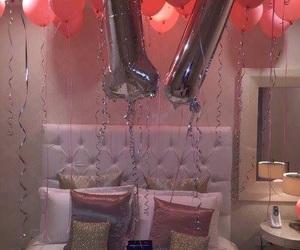 birthday, balloons, and 17 image