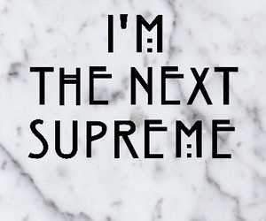 ahs, coven, and supreme image