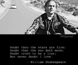 Charlie Hunnam, shakespeare, and sons of anarchy image