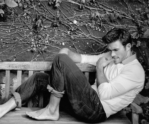 black and white, scott eastwood, and cute image