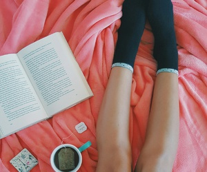 book, tumblr, and cozy image