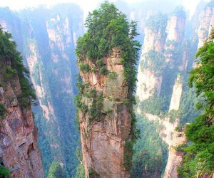 nature, china, and mountains image
