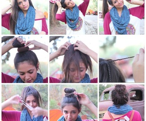 diy, girl, and hair image