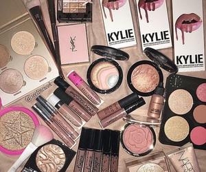 makeup, blush, and eyeshadow image