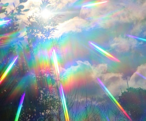 colours, rainbows, and interference image