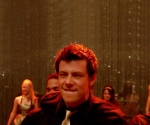 exy, glee, and finn hudson image
