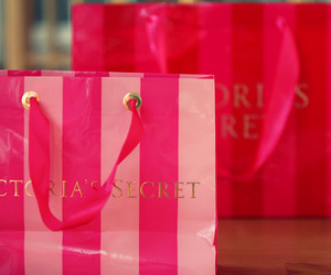 bags, pink, and Victoria's Secret image