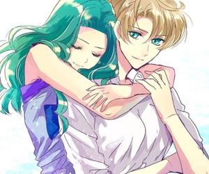 anime, anime couple, and anime girl image