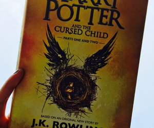 books, harry potter, and j.k. rowling image