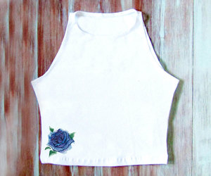 american apparel, etsy, and crop tops image