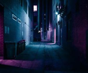 dark, grunge, and blue image