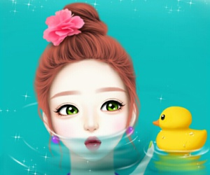 girl, art, and Enakei image