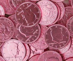 pink and money image