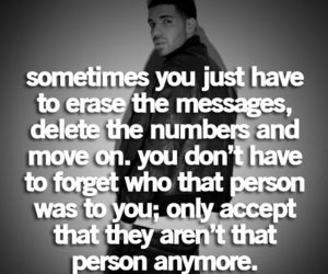quotes, Drake, and move on image