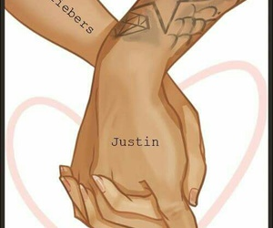 justin bieber, beliebers, and love image