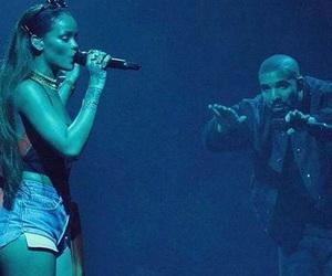 Drake, drizzy, and rihanna image