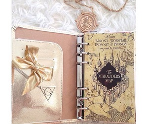 deathly hallows, diary, and filofax image
