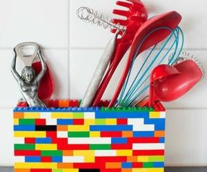lego utensil holder image