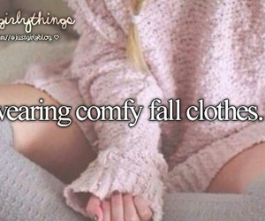 fall, comfy, and clothes image