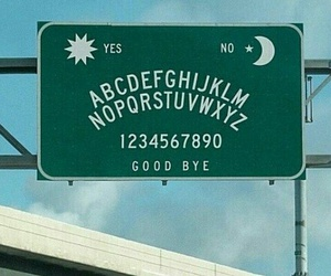 grunge, ouija, and sign image
