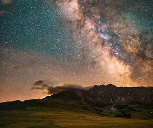 landscape, night, and sky image