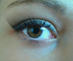eye, girl, and style image