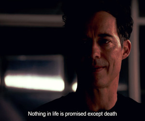 death, quote, and harrison wells image