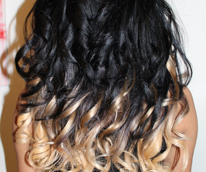 ombre, hombre hair black blond, and ashy elbows image