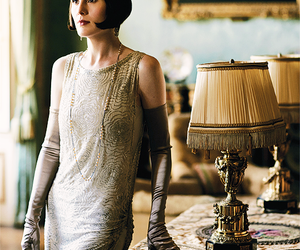 fashion, downton abbey, and michelle dockery image