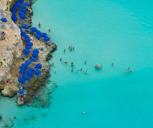 blue, beach, and malta image