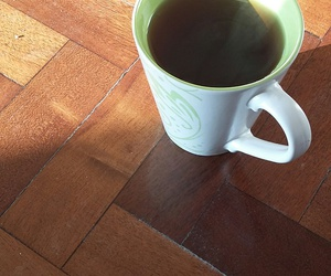 breakfast, chilling, and tea image