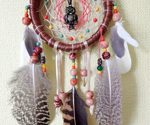 native american, wall hanging, and owl totem image