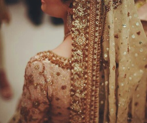 fashion, bride, and indian image