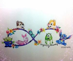 disney, infinity, and stitch image