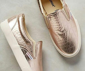 shoes, gold, and rose gold image