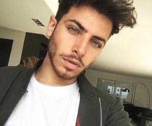 boy, Hot, and blue eyes image