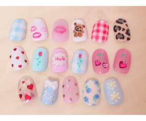 kawaii, nail, and cute image