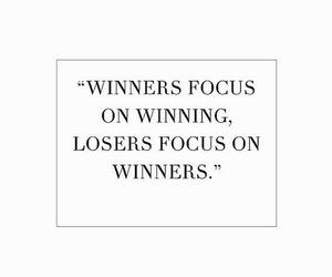 focus, winner, and work image