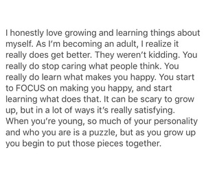 growing, happiness, and positivity image