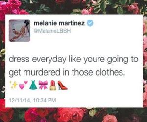 quote, melanie martinez, and background image