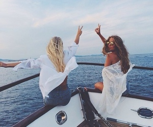 bff, boat, and goals image